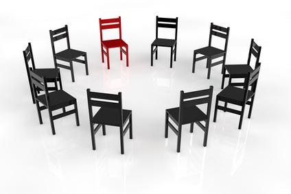 Stuhlkreis in der Psychotherapie